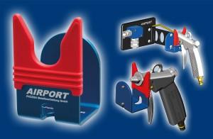 AIRPORT Blaspistolen-Halterung